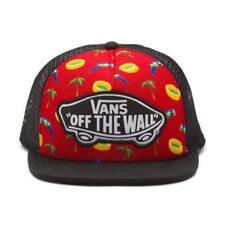 376383d586b VANS Beach Girl Trucker Hat (NEW) Snapback Cap PALM TREES PARROT Black FREE  SHIP