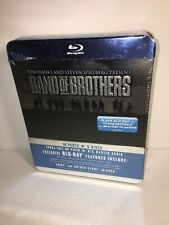 Band of Brothers Blu-Ray 6-Disc Set Tin Full Hd Video Hbo Mini Series Ambrose