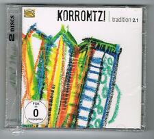 KORRONTZI - TRADITION 2.1 - CD 17 TITRES + DVD - 2014 - NEUF NEW NEU