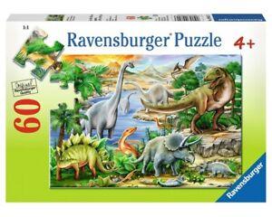 Ravensburger Jigsaw Puzzle 60pc - Prehistoric Life - 09621-3 Authentic New