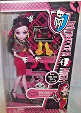 MONSTER HIGH DOLL *DRACULAURA* I LOVE SHOES COLLECTION & ACCESSORIES 6+ NIB