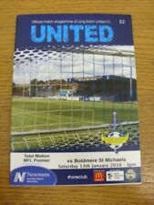 13/01/2018 Long Eaton United v Boldmere St Michaels  . Thank you for viewing thi