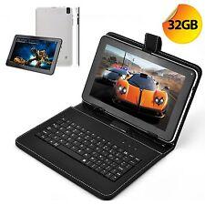 XGODY 32GB 9 Inch Android 4.4 Quad Core Camera Bluetooth Tablet W/ Keyboard Free