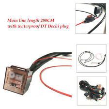3-way 12V 80A 310g Car Wiring Connector Cable Harness for LED  Fog Light Bar