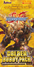 Future Card BUDDYFIGHT BFE-PP01 Golden Buddy Pack Booster Box of 10 packs SEALED