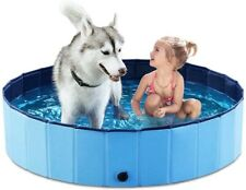 Foldable Dog Pet Bath Pool Collapsible -Bathing Tub Pool for Dogs Cats & Kids