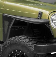 For Jeep Wrangler TJ 97-06 Front Fender Rock Crawler Armor Satin Black Steel