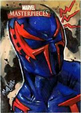 Spider-Man 2099 Marvel Masterpieces SkyBox Art Drawing Sketch Card Comics