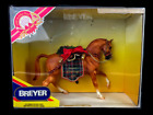 2000 Boxed Retired Breyer Christmas Horse #700400 Holiday Hunt Roemer