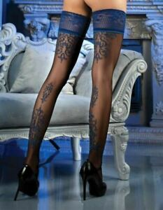 Ballerina 473 Sheer Stockings Thigh High Hold Ups