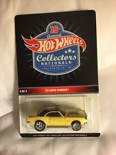 2016 Hot Wheels 16th Nationals Convention 68 Camaro COPO #3 Indy