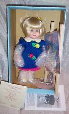 """12"""" Porcelain Betty Jane Carter Doll~The Little Artist"""