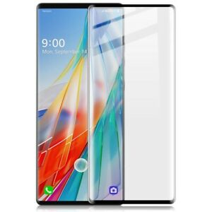 For LG Wing 5G 2020 Premium Tempered Glass Film Screen Protectors 3D Curved Full