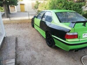 BMW e36 Sedan saloon Felony FRONT and REAR overfenders felony drift stanc