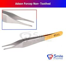 Adson Serrated Non Toothed Dressing Dissecting Tweezer Forcep Dental/Surgical CE