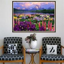 5D Diamond Embroidery Painting DIY Hill River Landscape Hand Craft For Adult