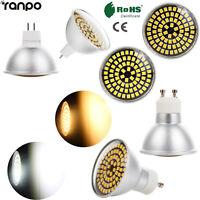 Dimmable LED Spotlight Bulbs 5W GU10 MR16 2835 SMD 110V 220V Light Lamp SS282