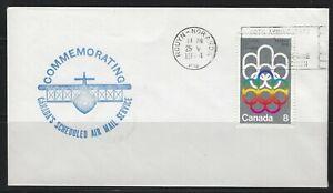 CANADA - 1974 HAILEYBURY-ROUYN AIRMAIL 50th ANNIVERSARY COVER