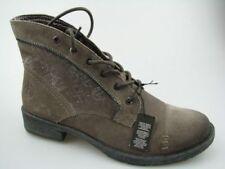 Stivali e stivaletti da donna anfibi , scarponcini grigi