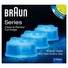 Braun Series Clean & Renew 3 Cartridge  - 2 Pack