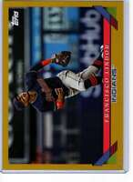 Francisco Lindor 2019 Topps Archives 5x7 Gold #300 /10 Indians