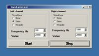 Software for generating audio signals