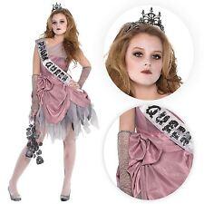 Zom Queen Costume Junior Large 11-13 Zombie Prom 11 13