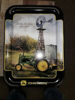 John Deere Serving Tray Breakin the windmill 2000
