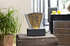 Slate Fountain Room Fountain Shui Water Feature Air Humidifier Fountain Buddhism