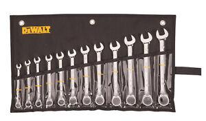 Dewalt-DWMT19232 12 Piece Reversible Ratcheting Wrench Set - SAE