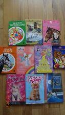 BUNDLE 10 CHILDRENSGIRLS READING BOOKS NOVELS ANIMAL AND FAIRYINTEREST