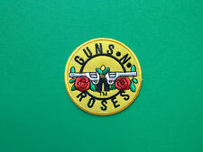 HEAVY METAL PUNK ROCK MUSIC SEW ON / IRON ON PATCH:- GUNS 'N ROSES (c) DISC