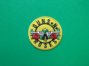 Guns N' Roses GNR Patch Punk Rock Heavy Metal Pop Music Sew/Iron On Badge (b)