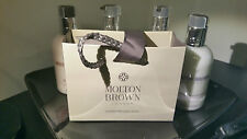 Molton Brown 3 x Gift Bags ~ (L) 4 & 1/2 Inches - (W) 5 & 1/2 Inches ~ Brand NEW