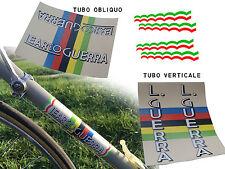 kit stickers adesivi per bici da corsa Learco Guerra vintage
