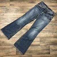 Silver Aiko Bootcut Jeans Women's Sz. 28x30 F66