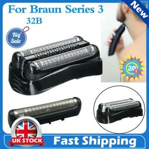 For Braun Series 3 32B 340 320 310 Shaver Replacement Foil Razor Head Cutter