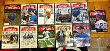 LOT OF 11 CHICAGO CUBS 1995 VINE LINE OFFICIAL NEWSPAPER MAGAZINES IN A++ SHAPE!