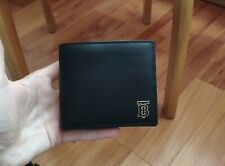 NEW Authentic Burberry Monogram Motif Leather International Bifold Wallet