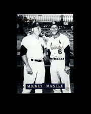 1992 PINNACLE #24 MICKEY MANTLE/Stan Musial (A)