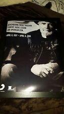 Merle Haggard Sony Legacy Memorial Promo Poster Framed!