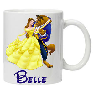 Personalised Beauty and the Beast Mug/Cup Perfect Gift Birthday Adult/Child Size