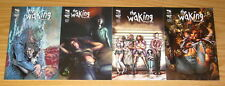 the Waking: Dreams End #1-4 VF/NM complete series - all B variants - zenescope