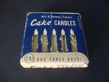 Vintage: Cake Candles - U.S.A.