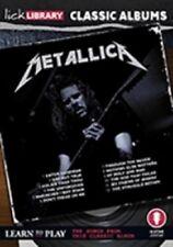 LICK LIBRARY Classic Albums i Metallica L'ALBUM NERO Imparare a Suonare la Chitarra DVD