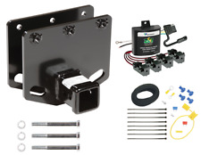 Trailer Tow Hitch For 11-19 Toyota Sequoia Receiver + ZCI ModuLite Wiring Kit