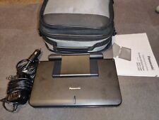 "Panasonic DVD-LS86 Portable used DVD Player 8.5"" screen with case"
