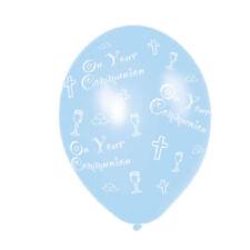 Ballons de fête bleus Amscan pour la maison, pour communion