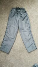 Used Boys Grey Donnay Tracksuit Bottoms - Size 7-8 years