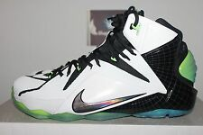 Nike LeBron XII 12 AS All Star NYC White/Black-Multi-Color 742549-190 Men's 10